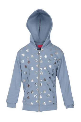 TINY GIRL -  GreyJackets  & Sweatshirts - Main