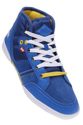 LEE COOPERMens Blue Lace Up Sports Shoe
