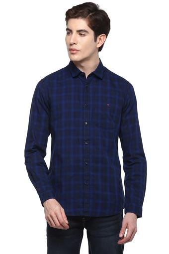 LOUIS PHILIPPE JEANS -  Navy Shirts - Main