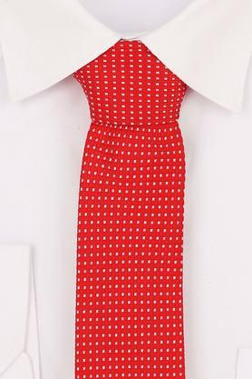Mens Checked Formal Tie