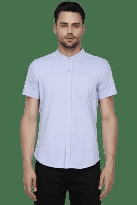 Mens Mao Collar Shirt