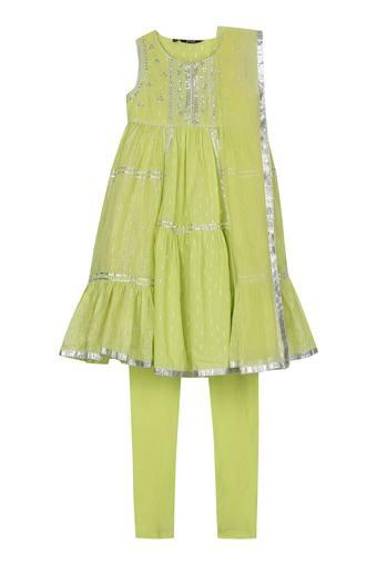 STOP -  Lime Green Stop Kids Buy 2 Get 25% Off  - Main