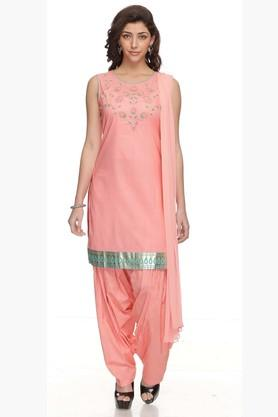 Womens Embroidered Patiala Suit