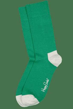 HAPPY SOCKSMens Cotton Stretch Solid Socks - 9261106