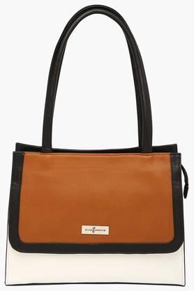 ELLIZA DONATEINWomens Zipper Closure Hobo Handbag