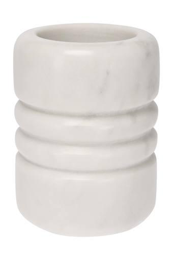 Cylindrical Solid Marble Toothbrush Holder