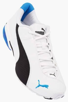 PUMAMens Leather Lace Up Sports Shoes