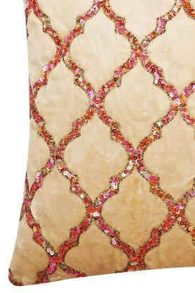 Square Embellished Moroccan Cushion Cover