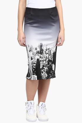 LIFEWomens Graphic Printed Skirt