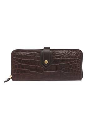 Womens Button Closure Wallet