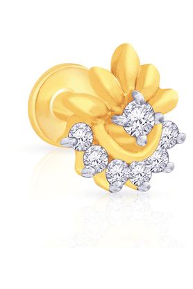 MALABAR GOLD AND DIAMONDSWomens Mine Diamond Nosepin - 201594463