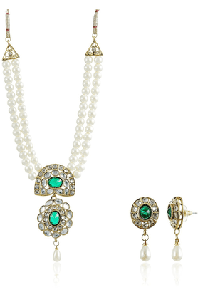 SIA Austrian Diamond Necklace Set-16533