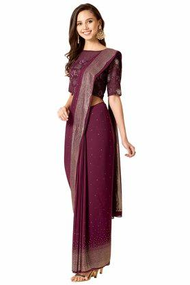 INDYA - Purple Women Ethnic Wear - 3