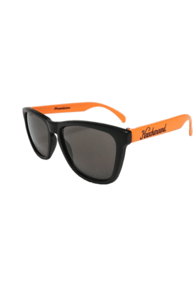 KNOCKAROUND Classic Premium Throwback Unisex Sunglasses Orange/Black-PRTH1005 (Use Code FB20 To Get 20% Off On Purchase Of Rs.1800)