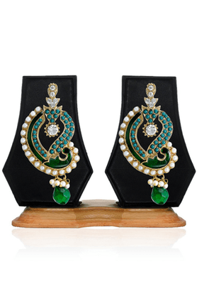 ZAVERI PEARLS Ethnic Mango Design Dangle Earring - ZPFK2483