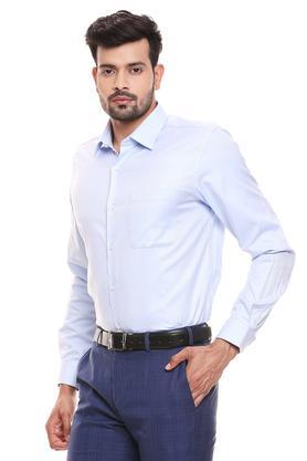RAYMOND - Light BlueFormal Shirts - 2
