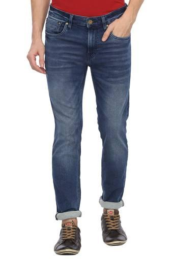 JACK AND JONES -  Dark Blue Jeans - Main