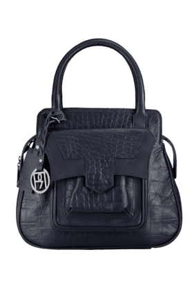 PHIVE RIVERS Womens Leather Zipper Closure Satchel (Use Code FB20 To Get 20% Off On Purchase Of Rs.1800)