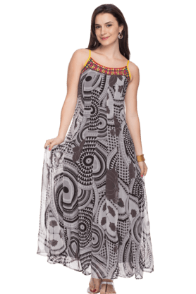 HAUTE CURRY Womens Printed Kurta - 200646960