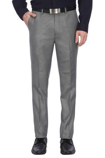 ARROW -  Grey Melange Cargos & Trousers - Main