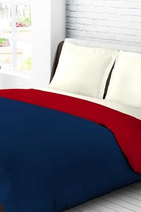 TANGERINEKrayons Polyster Double Quilt - Red & Blue