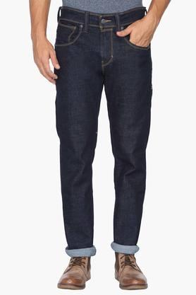 Levis Jeans (Men's) - Mens Slim Fit 5 Pocket Rinse Wash Jeans