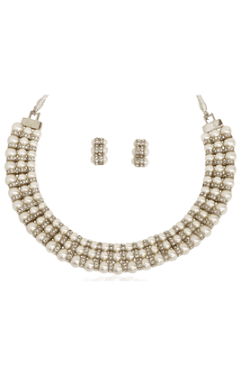 TOUCHSTONE Necklace Set - 8616477