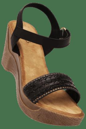 INC.5Womens Velcro Closure Wedge Sandal