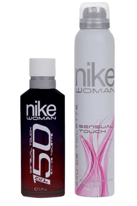 NIKE Womens Gift Set -Sensual Touch - Edt 150ml And Deo 200ml