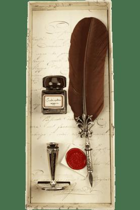 WILLIAM PENNRubinato 7046 Set Feather Brown Pen
