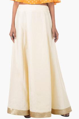 Womens Solid Long Skirt - 202498108