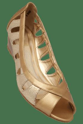 TRESMODEWomens Party Wear Slipon Peep Toe Pump Shoe - 200581242