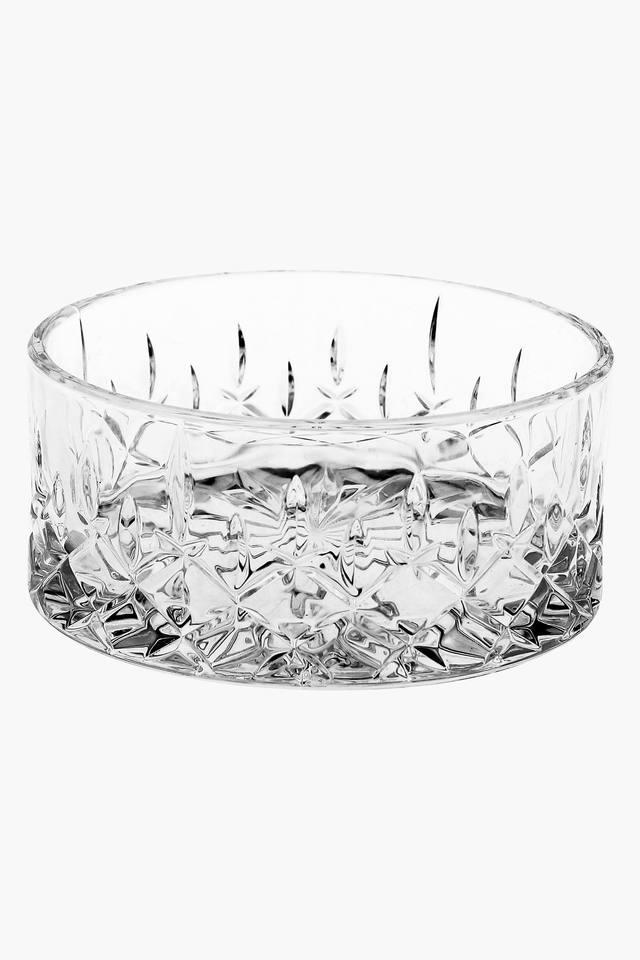 Round Beveled Bowl Set of 2 - 11 cms