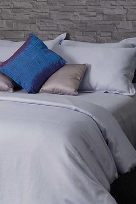 ST CLOUDSterling Blue Sterling Blue 600TC Easy Care Cotton Stripes Bedlinen (Bedsheet Set (King XL)