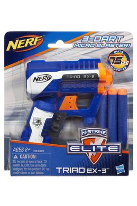 Nerf Inflatable Toys - Boys 3 Darts Micro Blaster EX-3 Gun
