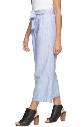 Womens Striped Culottes