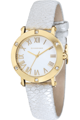 GIO COLLECTIONWomens Round Dial  Watch - 2694-03