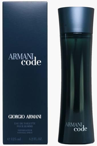 Buy Giorgio Armani Armani Code Fragrance For Men 125 Ml