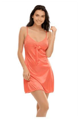 896f6d2e6b X CLOVIA Short Nightdress