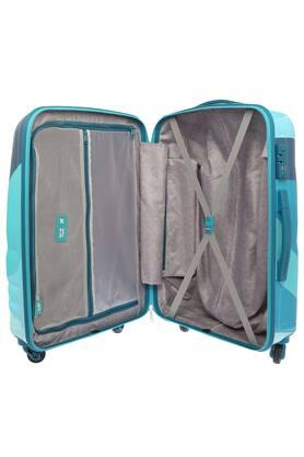 Unisex 1 Compartment Zip Closure Hard Trolley