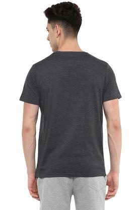 STOP - Blue MelangeT-Shirts & Polos - 13