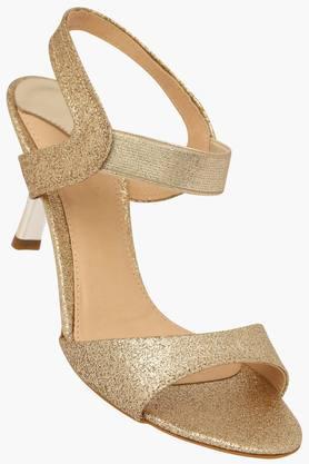CATWALKWomens Party Wear Slipon Heel Sandal