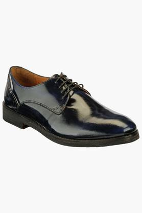 HATS OFF ACCESSORIES Mens Leather Lace Up Formal Shoes