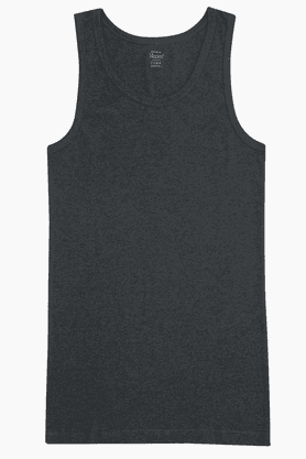 HANES Mens Stretch Slub Round Neck Vest - 201048431