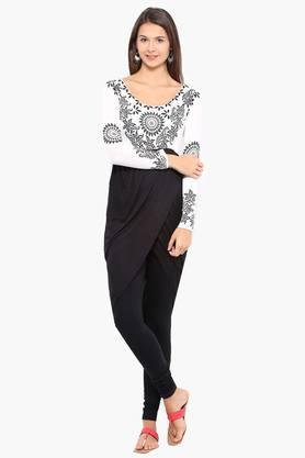 IRA SOLEILWomens Slim Fit Printed Kurta (Buy Any Ira Soleil Product And Get A Charms Bracelet Free) - 201787532