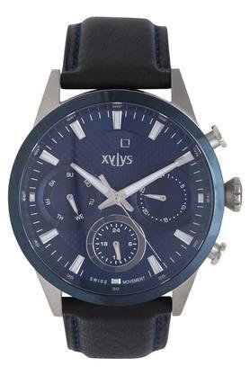 Mens Blue Dial Multi-Function Watch - 40034KL02E