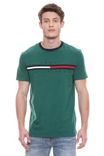 TOMMY HILFIGER -  GreenT-shirts - Main