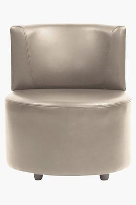 Camel Cord Leatherette Modular Sofa (Seater)