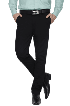 STOP Mens Slim Fit Trousers
