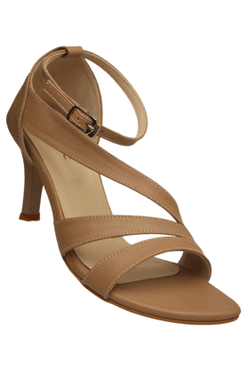 LIFE Womens Casual Ankle Buckle Closure Heel Sandal (Use Code FB15 To Get 15% Off On Purchase Of Rs.1200)